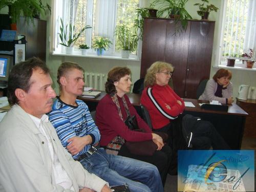 """Председатели первичных организаций ОО """"БелОГ"""" г. Минска"""